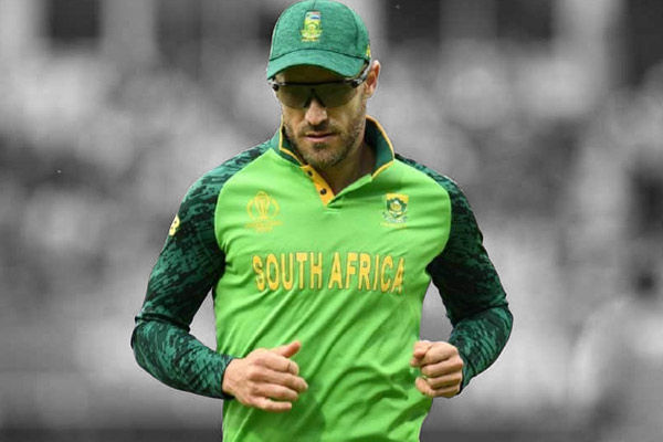 Faf du Plessis and his wife received death threats during the 2011 World Cup