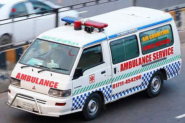 Ambulances asked to mute siren