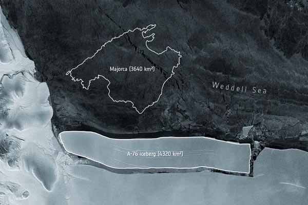 World Largest Iceberg Has Just Broken Off An Antarctic Ice Shelf