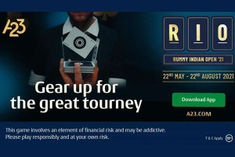 A23 online rummy tournament players have a chance to win a grand prize of 1 crore