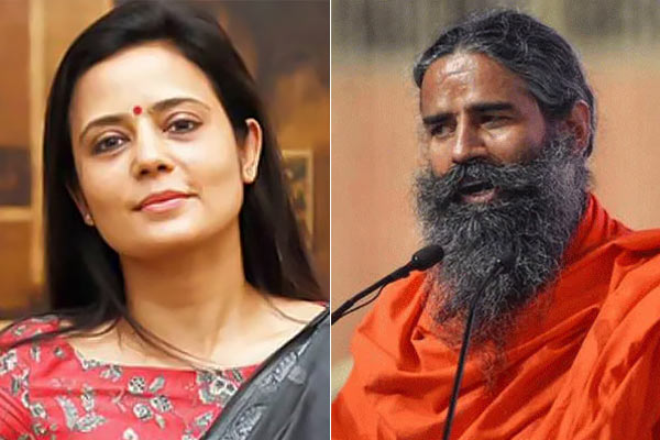 TMC Leader Mahua Moitra targeted the government on IMA Ramdev Case