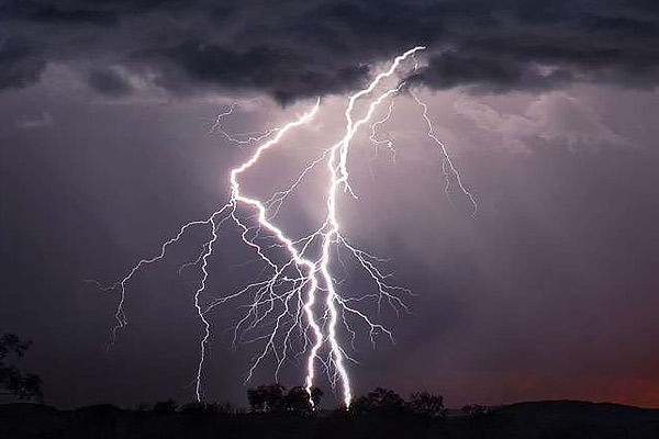 Nearly five people died due to lightning strikes in West Bengal