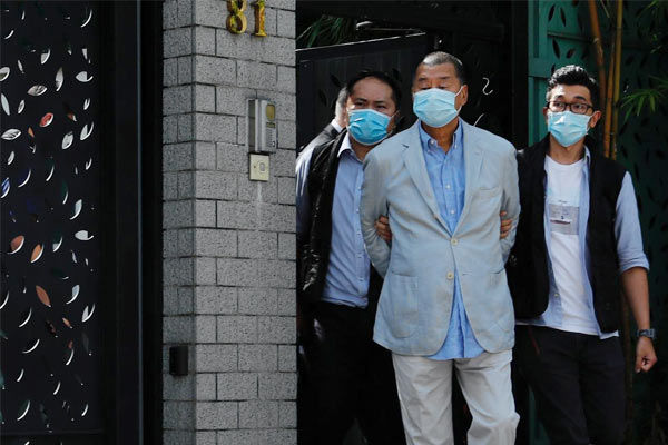 Jimmy Lai sentenced to more jail
