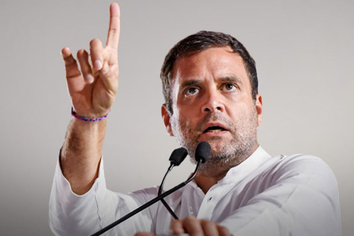 Rahul Gandhi Address Media Today At 12 Noon By Video Conferencing