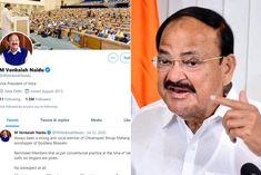 Twitter restores blue tick on Vice President Venkaiah Naidu's personal account