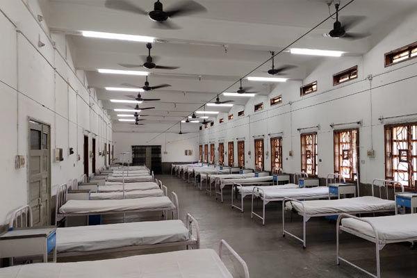 Assam opens 300-bed Covid hospital in stadium
