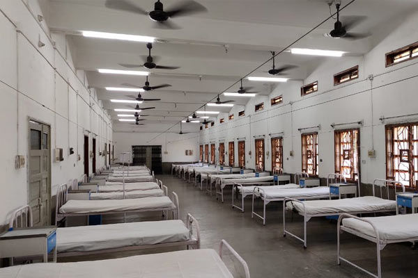 Assam opens 300-bed Covid hospital in stadium built in 20 days by DRDO