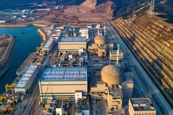 Leakage in Chinese nuclear plant near Hong Kong French company gave information