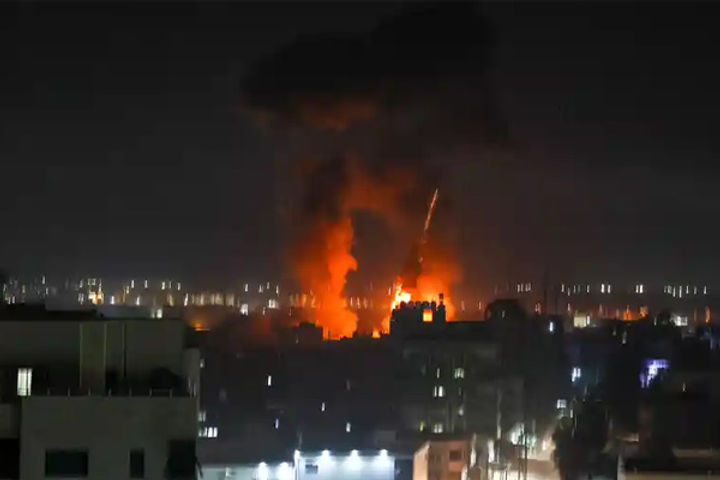 Israel Launches Airstrikes In Gaza, Says AFP News Agency Quoting Palestinian Security Sources