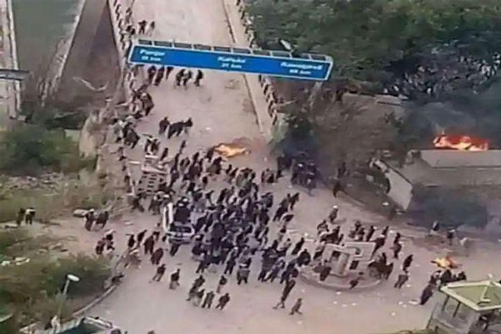 Protest in PoK against job regularisation law