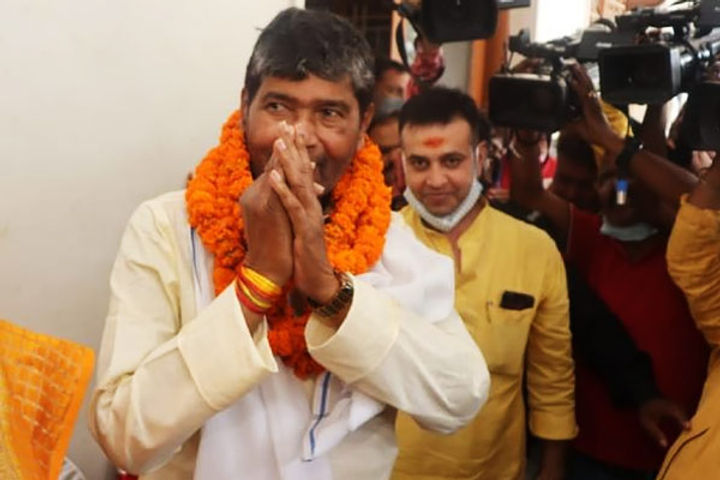 Pashupati Kumar Paras was elected the head of Lok Janshakti Party