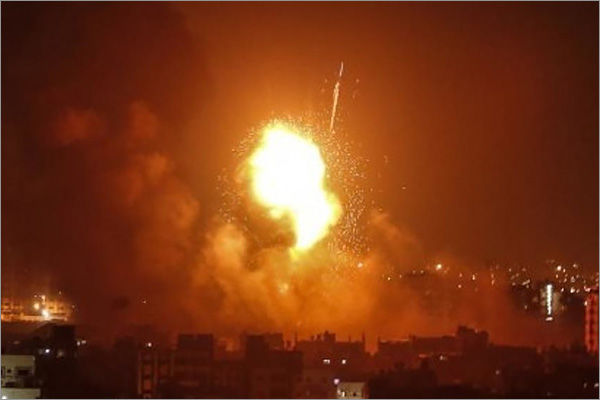 Israeli airstrike in Gaza