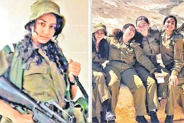 20 year old Nitsha from Gujarat enlisted in Israeli army