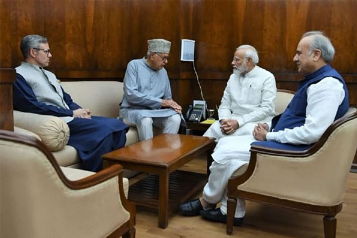 Central Government To Hold Talks With Parties In Jammu Kashmir By End Of June