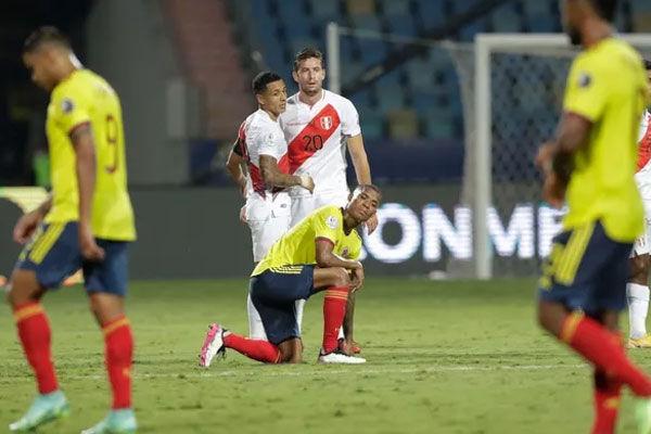 Peru beats Colombia