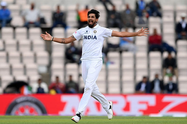 Ishant Sharma became the fourth Indian bowler to take 200 or more wickets on foreign soil