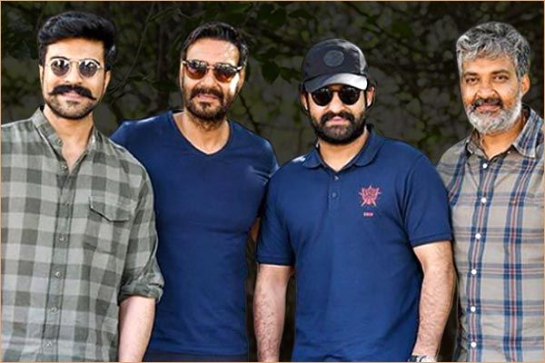 Shooting of RRR will be completed before the third wave of Corona says sources