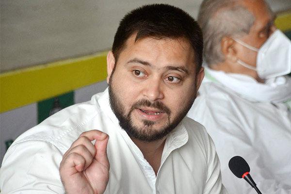 Tejashwi asks Chirag Paswan to quit NDA