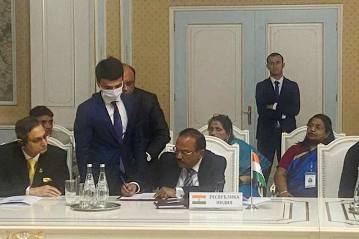 Ajit Doval attends SCO meeting