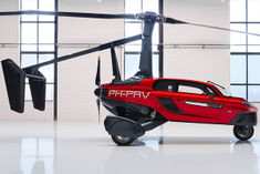 The worlds first flying car PAL V Liberty will be launched in the market next year