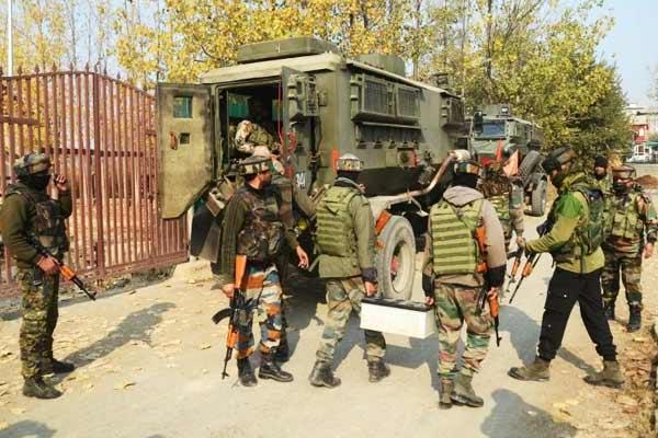 Encounter in Hajin Rajpora area helper and 4 terrorists killed 1 soldier martyred