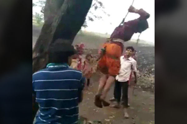 MP woman thrashed brutally