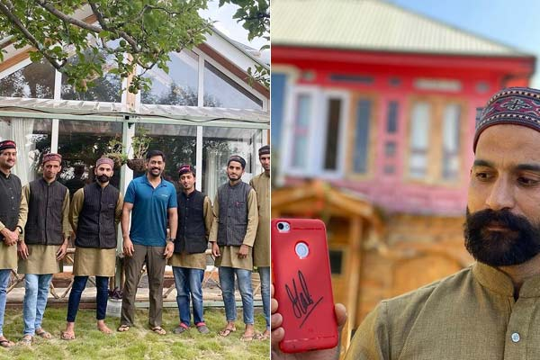 MS Dhoni fulfills a fans dream during his vacation in Himachal Pradesh
