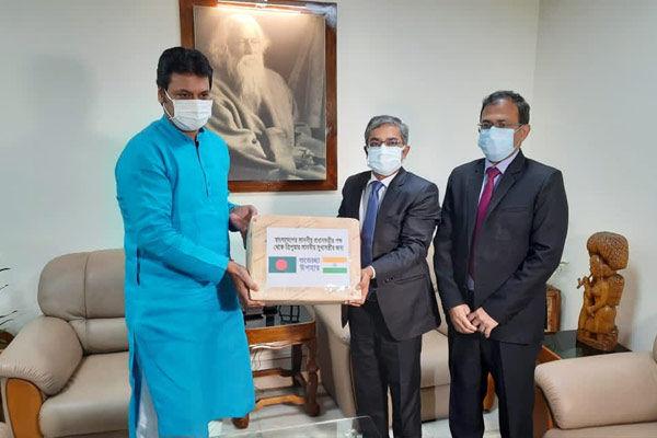 Bangladesh PM sends mangoes to Tripura CM