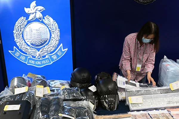 Six School Kids Among Nine Hong Kongers Arrested For Bomb Plot