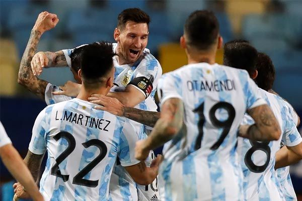 Argentina reach Copa America final against Brazil after beating Colombia on penalties