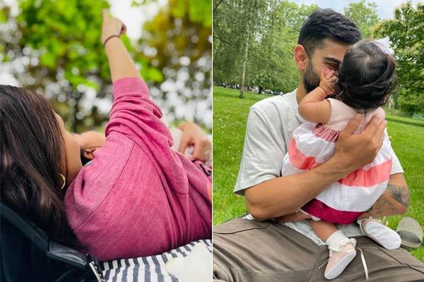 Anushka Sharma shares first pic of baby Vamika with Virat Kohli