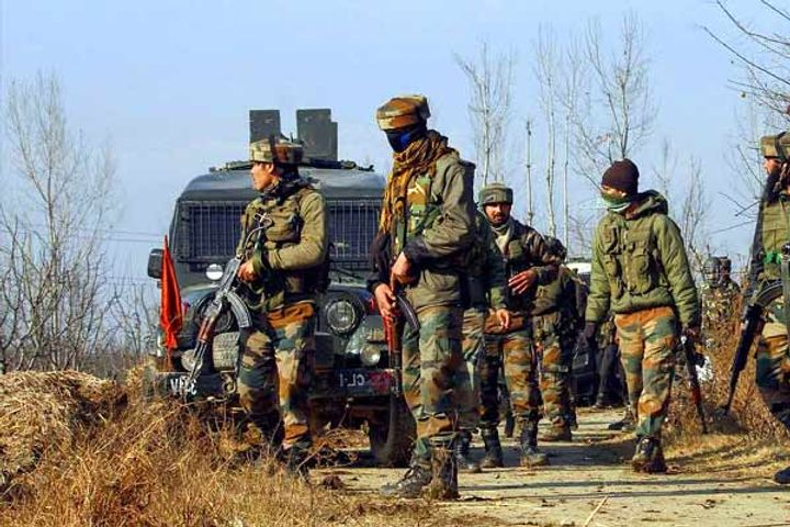 Encounter between terrorists and Security Forces