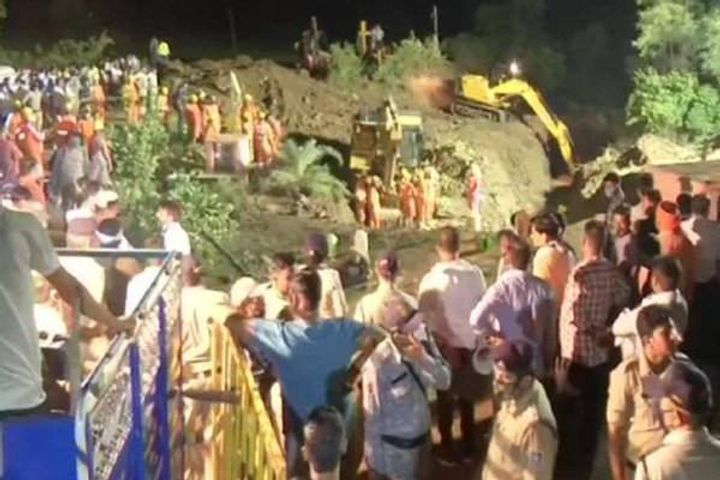Well Collapsed In Madhya Pradesh