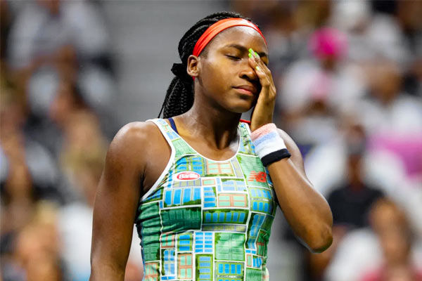 Gauff tests positive for COVID