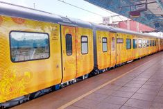 Rajdhani Express Attached With Smart Tejas Sleeper Coach