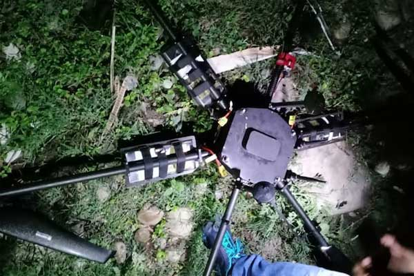 Drone shot down in Akhnoor