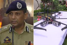 Drone shot down by Jammu Police Mukesh Singh said There could have been a big explosion
