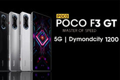 POCO F3 GT launched in India