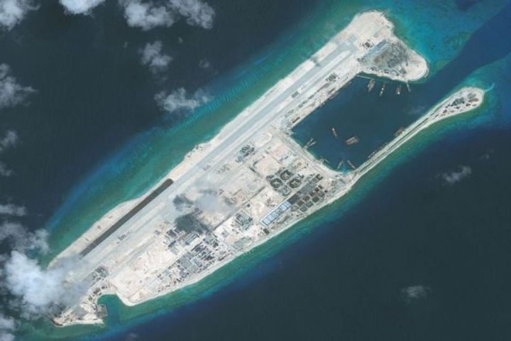 China is increasing the number of weapons on artificial islands