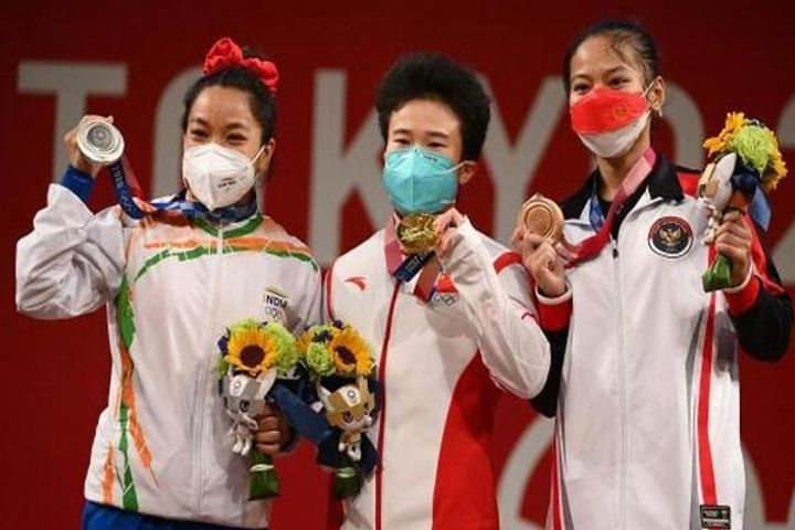 Weightlifter Hou to be tested by antidoping authorities silver medallist Chanu stands chance to get