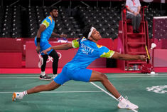 Indian pair of Chirag Satwik defeated by Indonesian duo
