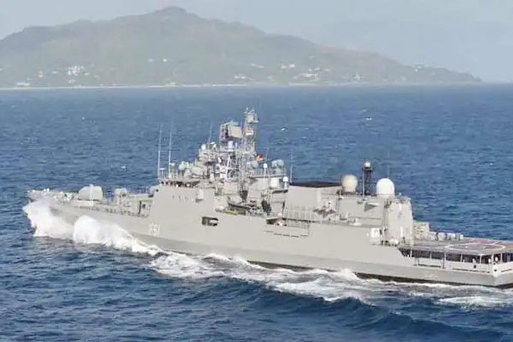 INS Talwar reaches Mombasa