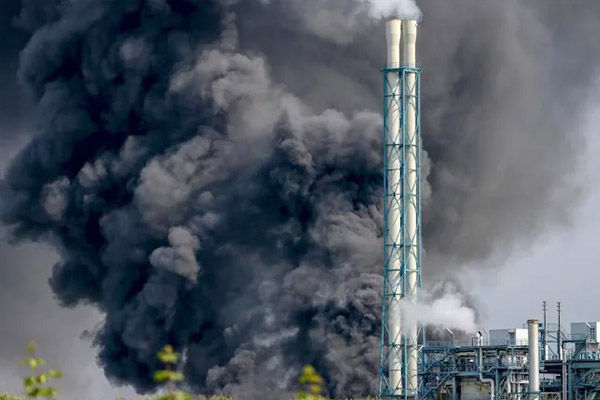 German chemical blast