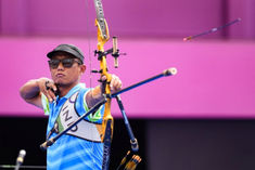 Tarundeep Rai defeats in mens individual event in archery