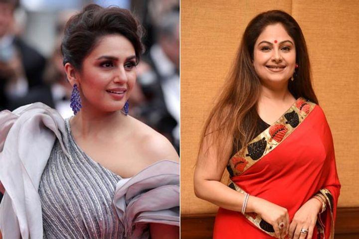 Huma Qureshi and Ayesha Jhulka