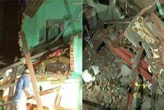 four storey building collapses in mumbai andheri area 5 injured
