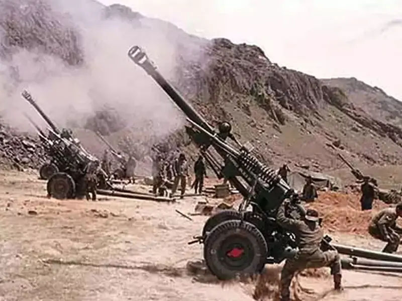 artillery in Kargil War