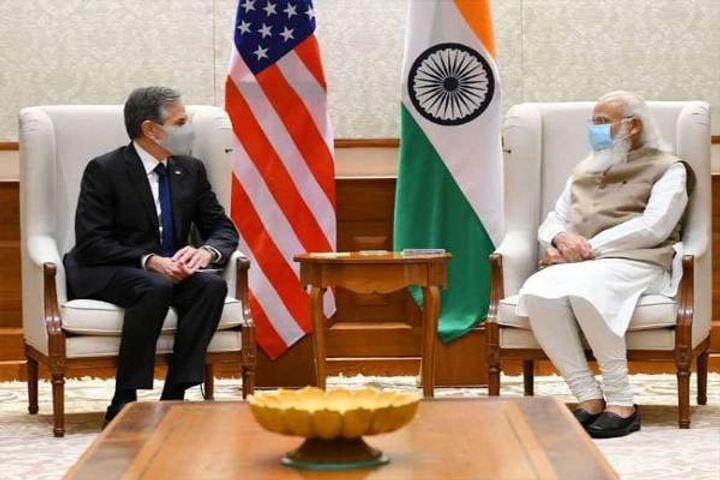 Blinken Modi meeting
