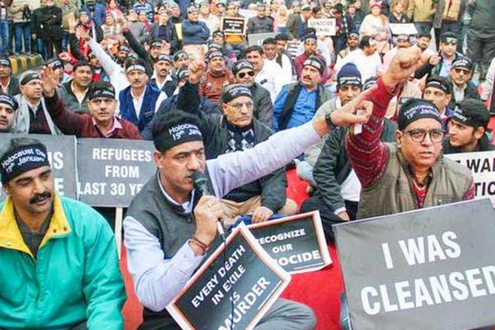 Government on Kashmiri Pandits