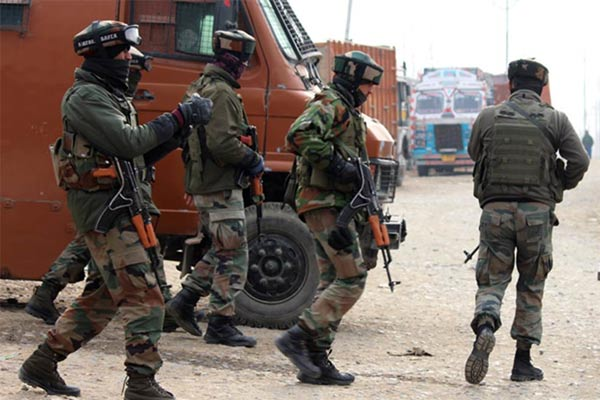 Encounter Between Police And Security Forces And Terrorists In Tral